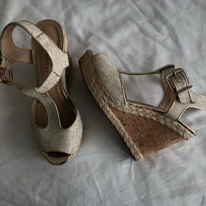 Antonio Melani Wedge Heels Sz 6.5